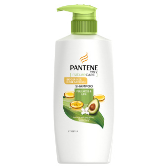 Harga Pantene Nature Care Fullness & Life Shampoo 750ml