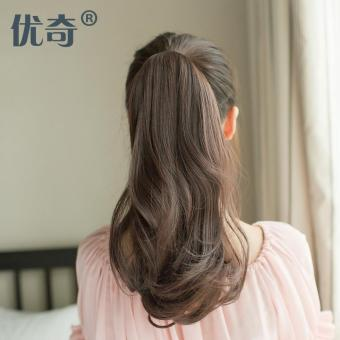 Harga Pear volume ponytail wig female tied-fake long hair
