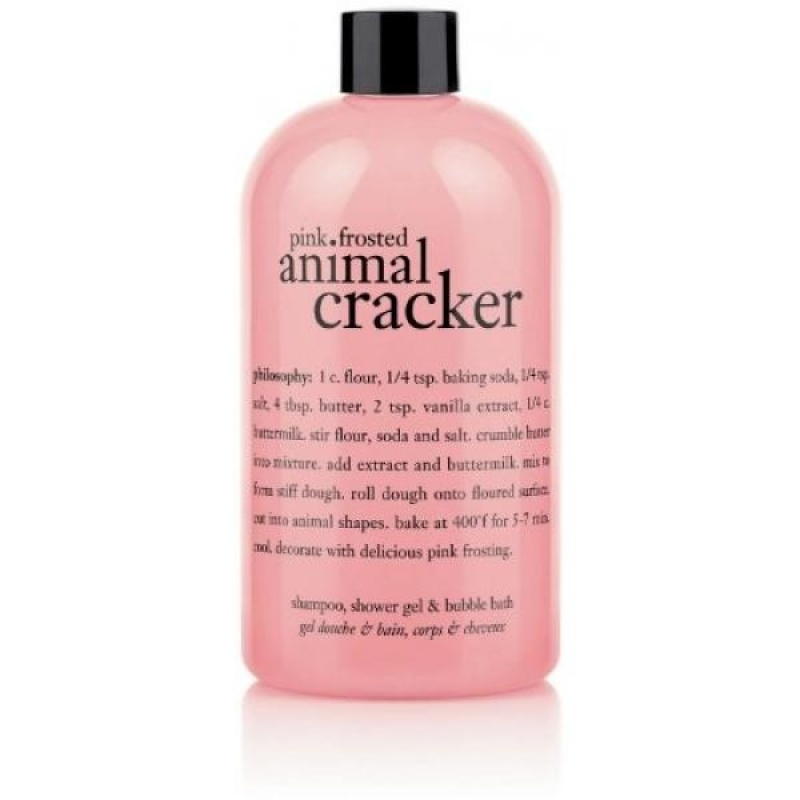 Buy Philosophy Pink Frosted Animal Cracker (Shampoo, Shower Gel and Bubble Bath)16 fl. oz. - intl Singapore