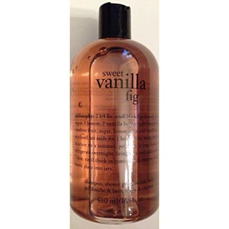 Buy Philosophy Sweet Vanilla Fig Shampoo, Shower Gel & Bubble Bath 16 Oz - intl Singapore