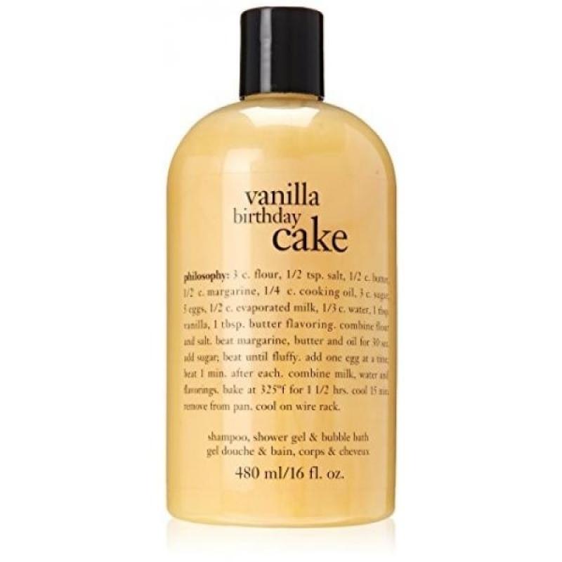 Buy Philosophy Vanilla Birthday Cake Bath Care for Unisex, 16 Ounce - intl Singapore