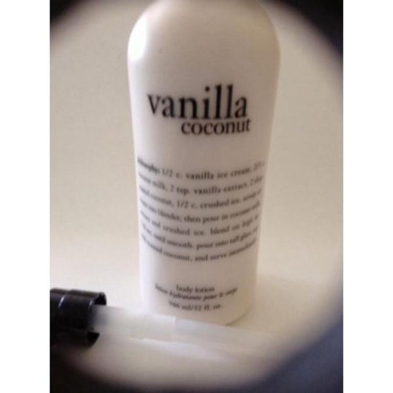 Buy Philosophy Vanilla Coconut Shampoo Shower Gel Bubble Bath 32oz w/ Pump - intl Singapore