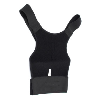 Harga Posture Corrector Magnetic Back Shoulder Brace Belt AdjustableTherapy Straight