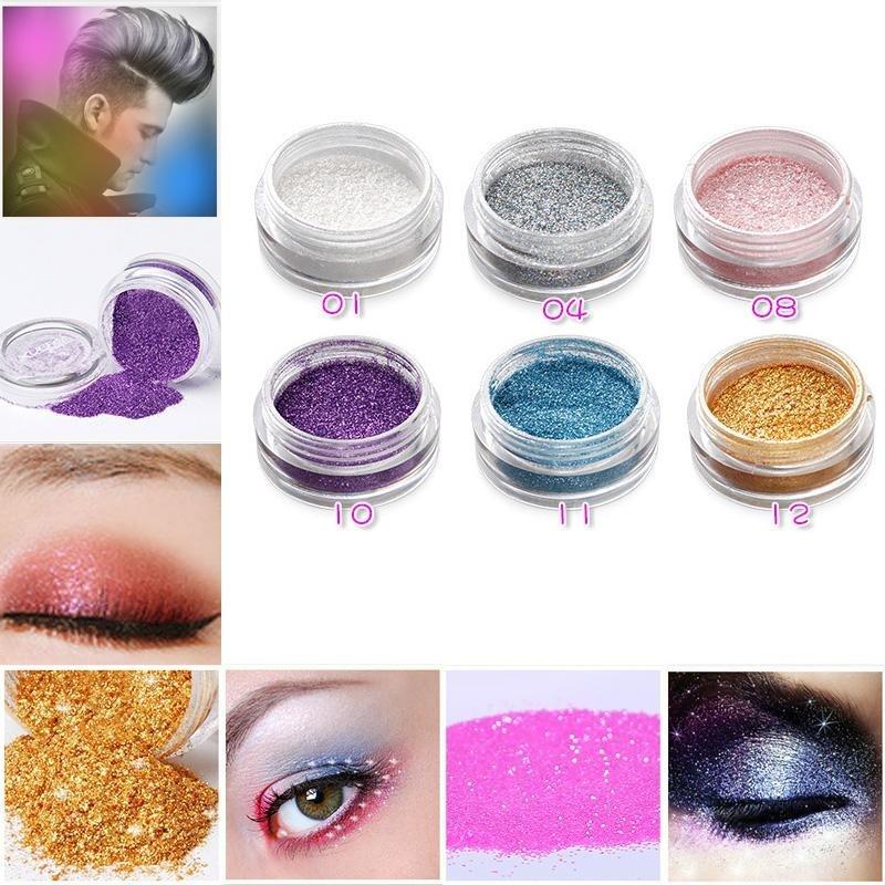 Buy Pro Eye Shadow Eyeshadow Powder Fine Glitter Dust Shimmer 3g Stage Beauty Makeup - intl Singapore