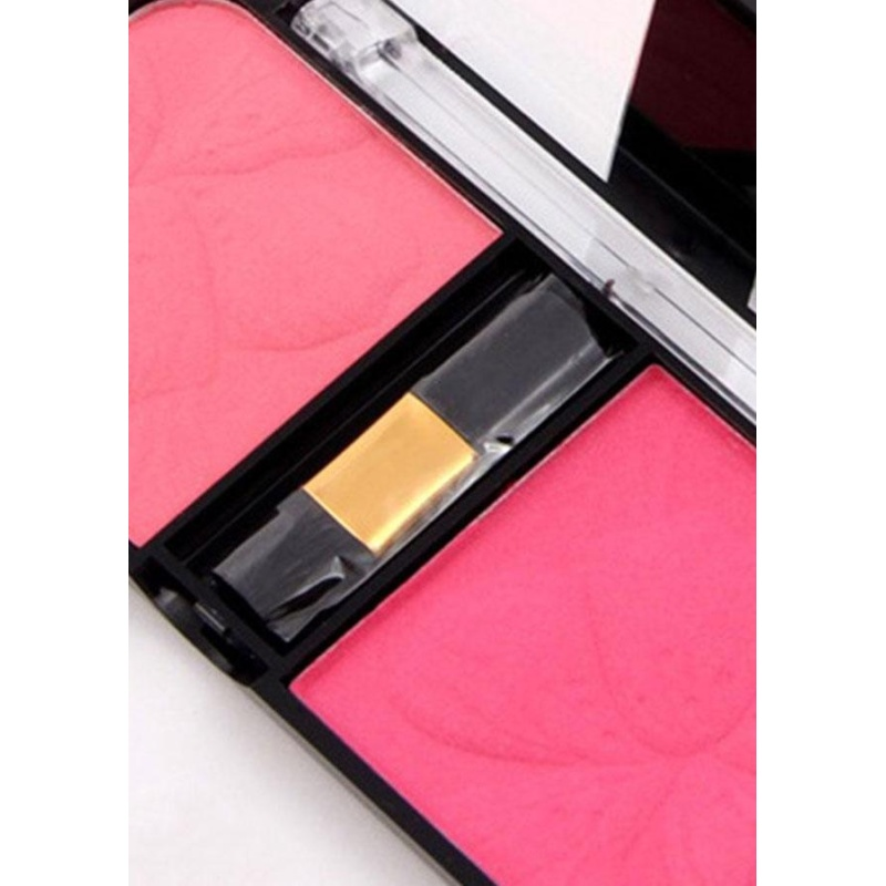 Buy Professional Blush Cheek 3D Face Natural Dual Colors Bronzer Blusher Maquiagem - intl Singapore