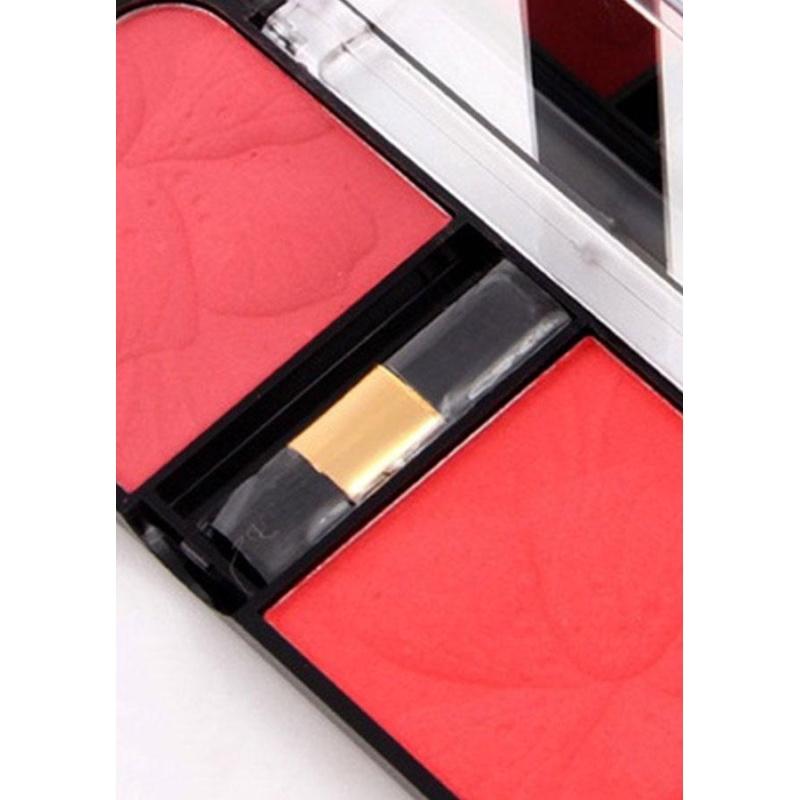 Buy Professional Blush Palette 3D Face Natural Dual Colors Bronzer Blusher Maquiagem - intl Singapore