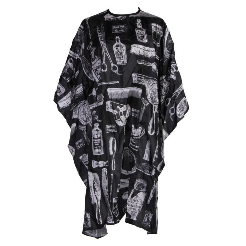 Buy Professional Hairdressing Gown Apron Children Adults Hair Cutting Cape (Black) - intl Singapore