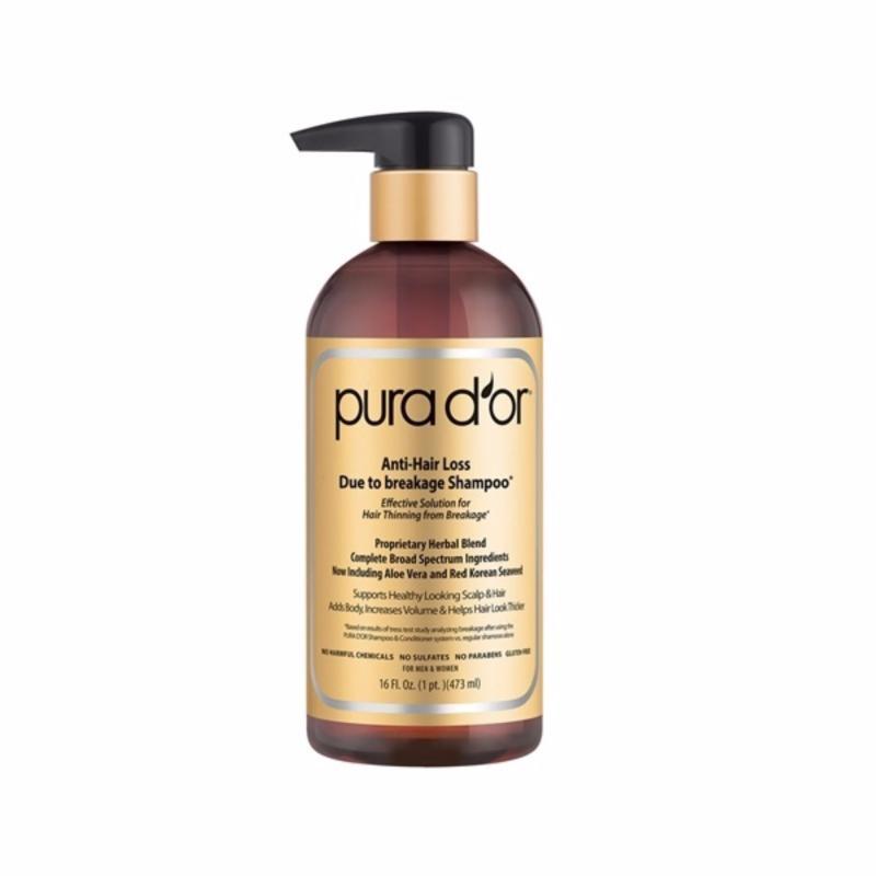 Buy Pura d'or Premium Organic Anti-Hair Loss Shampoo 473ml Singapore