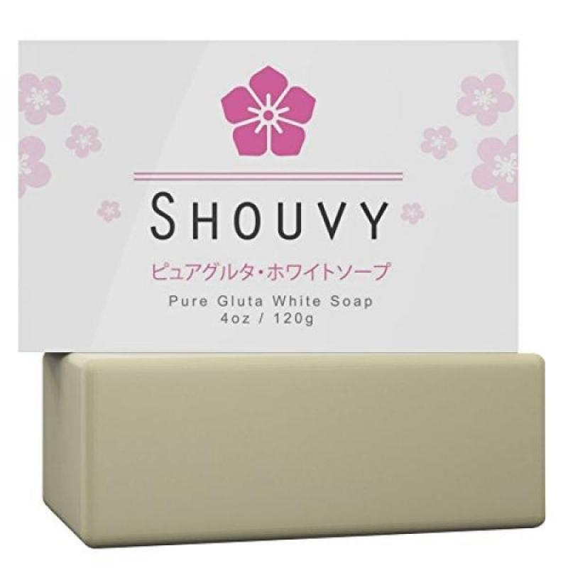 Buy Pure Glutathione Whitening Bleaching Soap-Natural Skin Lightening Remedy-Highly Effective For Permanent Scar Removal-Anti-Oxidant & Antiaging With Coconut Oil & Vitamins C, B3-Acne & Pigmentation Cure Singapore