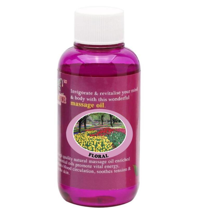 Buy Pure™ Massage Oil 120ml (Floral) Singapore