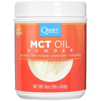 Quest Nutrition MCT Oil Powder?16oz (454g)?50 Servings?Multi-Usage?Slim Effectively!