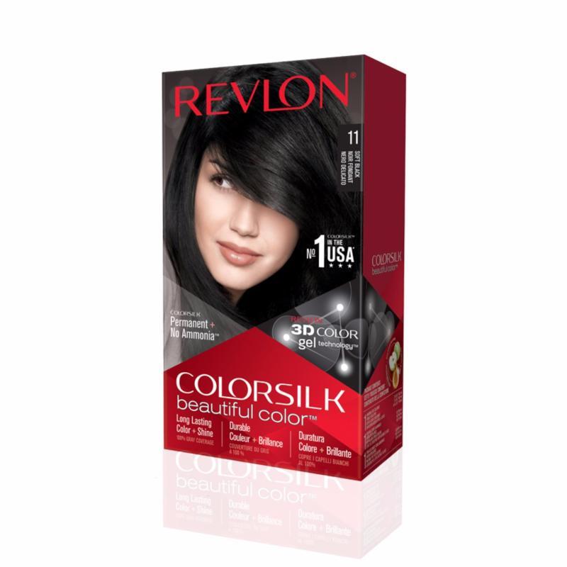 Buy Revlon® Colorsilk Beautiful Color™ + Colorsilk Shampoo™ & Conditioner™ Set For Black Hair Singapore