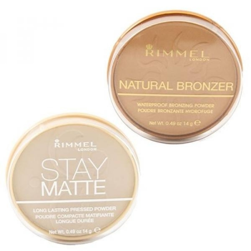 Buy Rimmel Stay Matte Pressed Powder, Creamy Natural and Natural Bronzer, Sunshine with Dimple Bracelet - intl Singapore