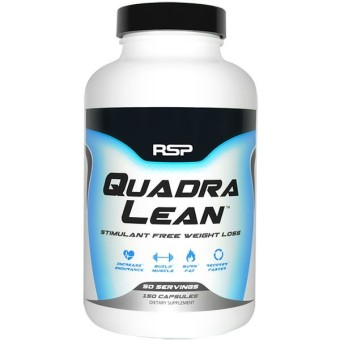 RSP Nutrition QuadraLean 150 Capsules With Free Gift