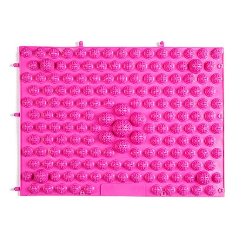 Buy Running Man Shoots Tpe Foot Reflexology Cushion Large Toe Plate Acupressure (Pink) Singapore