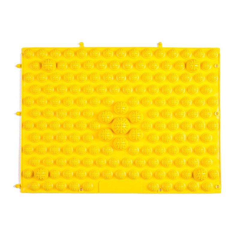 Buy Running Man Shoots Tpe Foot Reflexology Cushion Large Toe Plate Acupressure (Yellow) Singapore