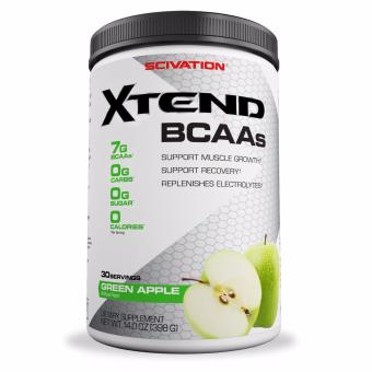 Harga Scivation Xtend BCAAs for Muscle Growth and Strength Green Apple 30 Servings With Free Gift
