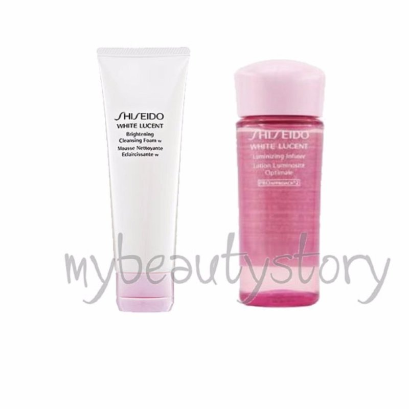 Buy Shiseido White Lucent Cleanser 30ml and Luminizing Infuser 25ml Singapore