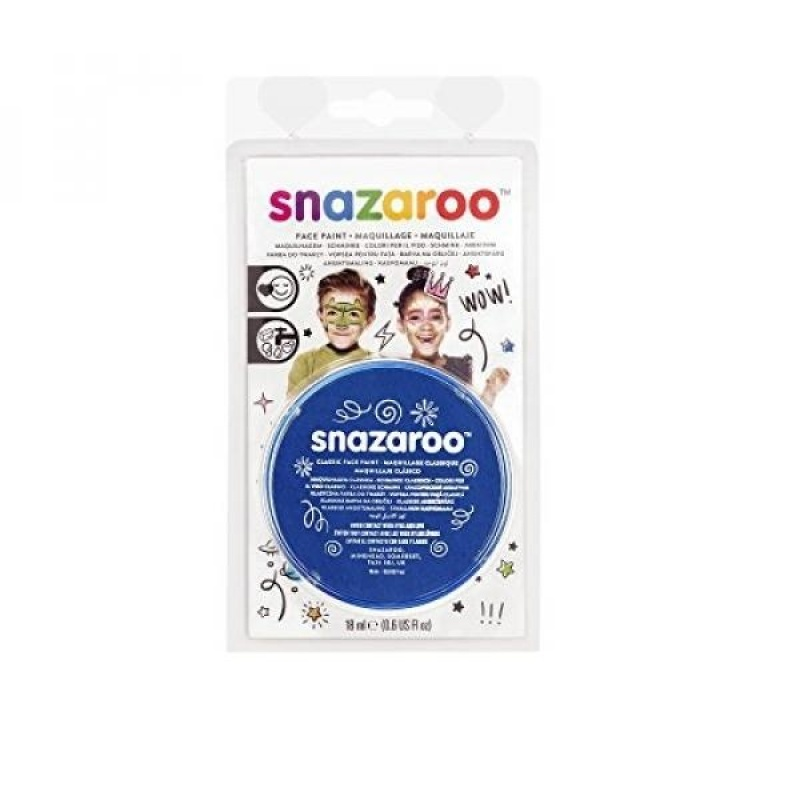 Buy Snazaroo 1119344 Face Paint 18ml Royal Blue Clam Pack Color - intl Singapore