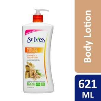 St Ives Oatmeal Shea Butter Body Lotion 621ml