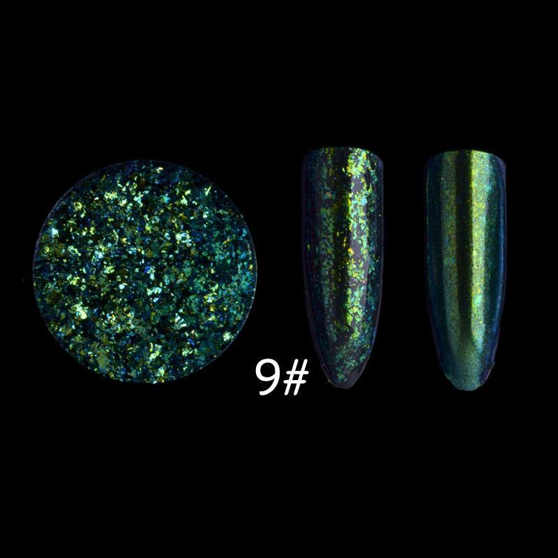 Buy Starry Sky Magic Mirror Powder Nail Art Sparkly Glitter Super Thin Sequins Tips Singapore