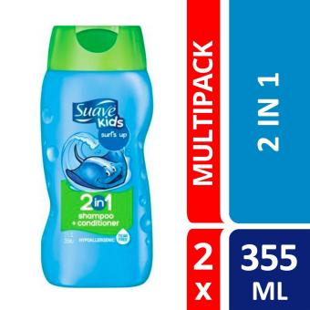 Harga Suave Kids 2 In 1 Surfs Up Shampoo Conditioner 355ml X2