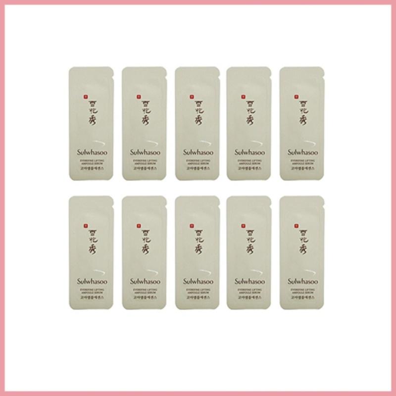 Buy Sulwhasoo Everefine Lifting Ampoule Serum Sample 20ea (20g)/TTBeauty/Korea Cosmetics Singapore