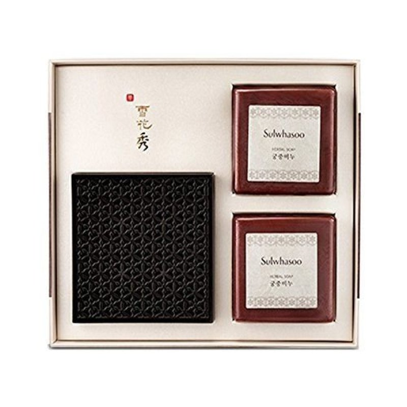 Buy Sulwhasoo Herbal Soap Set (Goong-Joong Soap) 100g*2 - intl Singapore