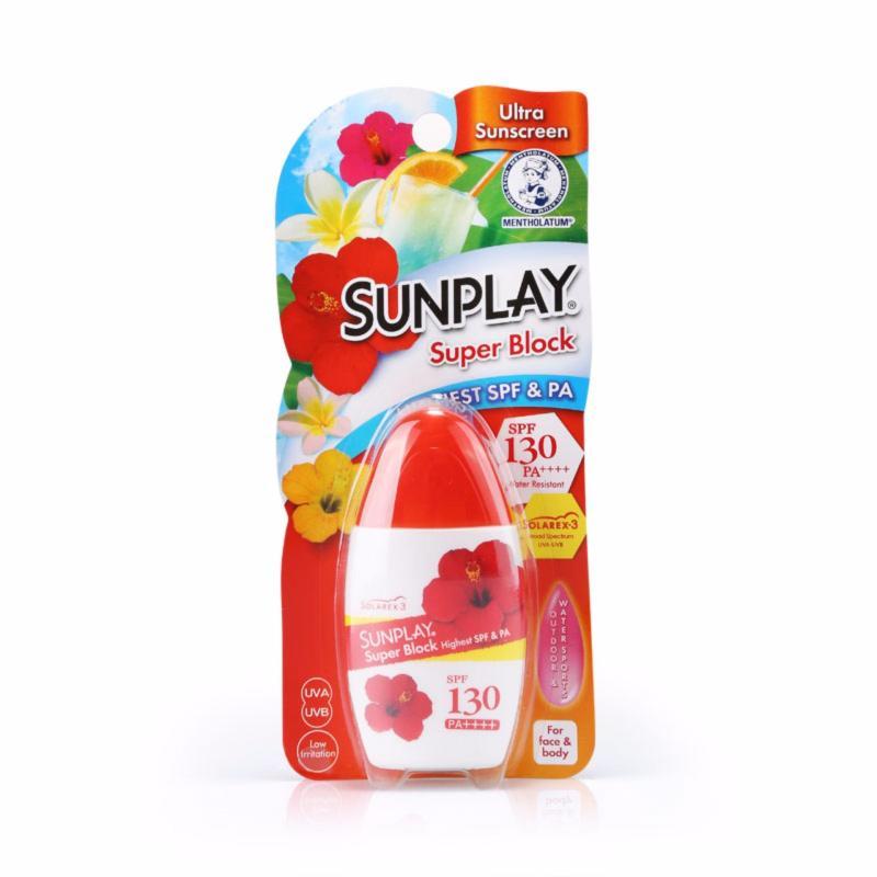 Buy Sunplay Super Block Lotion SPF 130 35g Singapore