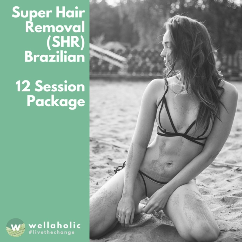 Buy Super Hair Removal (Brazilian) - 12 Session Package Singapore