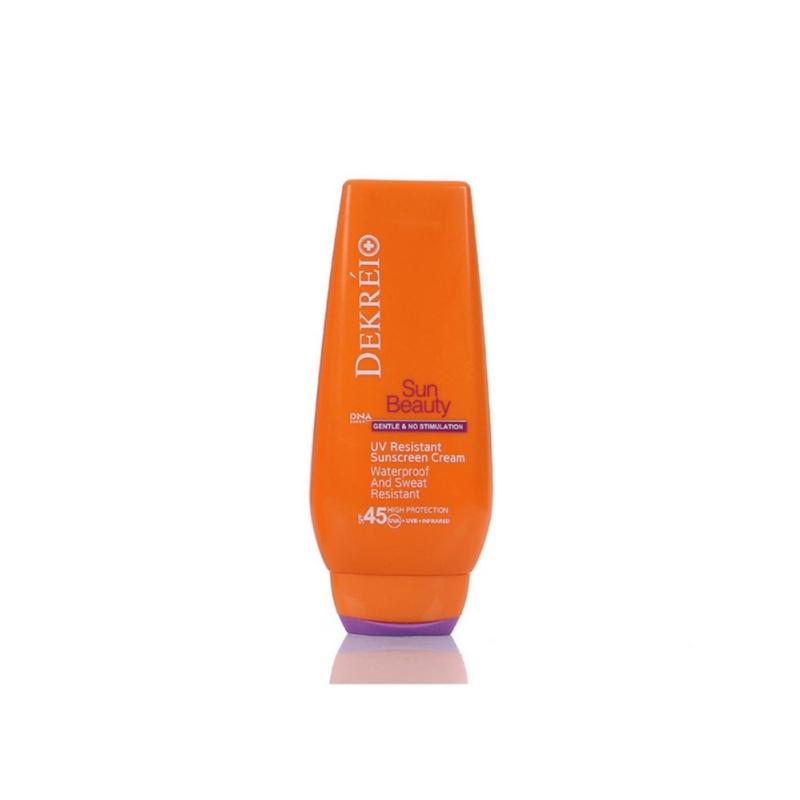 Buy Switzerland Dekrei UV Resistant Sunscreen Cream SPF45 125ml - intl Singapore