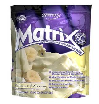 SYNTRAX Matrix 5.0 Banana Cream 2.27kg