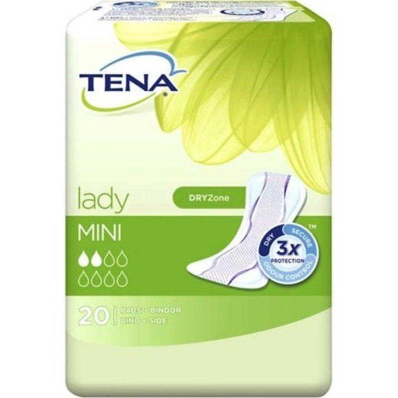 Buy Tena Lady Mini Adult Diaper Pads Sanitary Napkin Towels Pack of 20 Singapore
