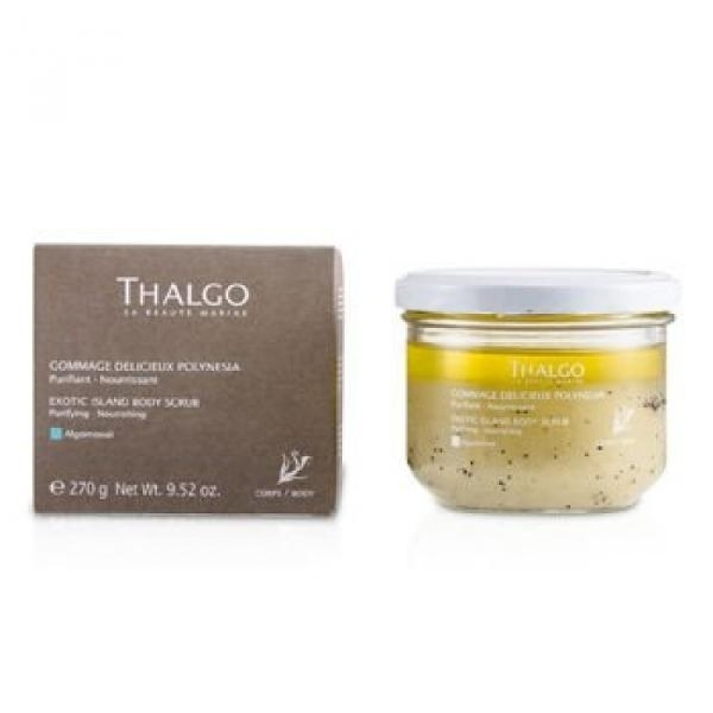 Buy Thalgo Exotic Island Body Scrub, 270 Gram - intl Singapore