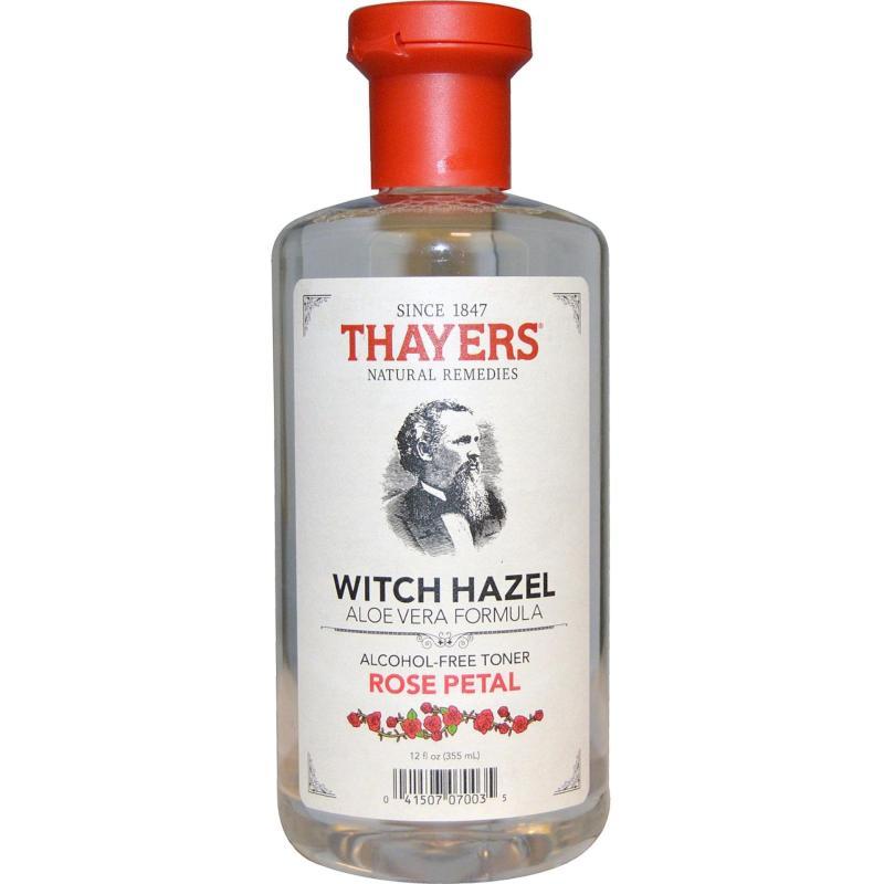 Buy Thayers, Witch Hazel Aloe Vera Formula, Alcohol-Free Toner, Rose Petal, 355 ml Singapore