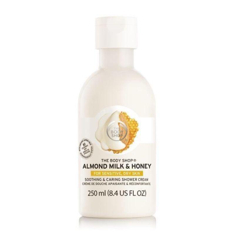 Buy The Body Shop Almond Milk & Honey Soothing & Caring Shower Cream (250ML) Singapore