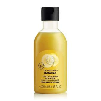 The Body Shop Banana Truly Nourishing Shampoo (250ML)