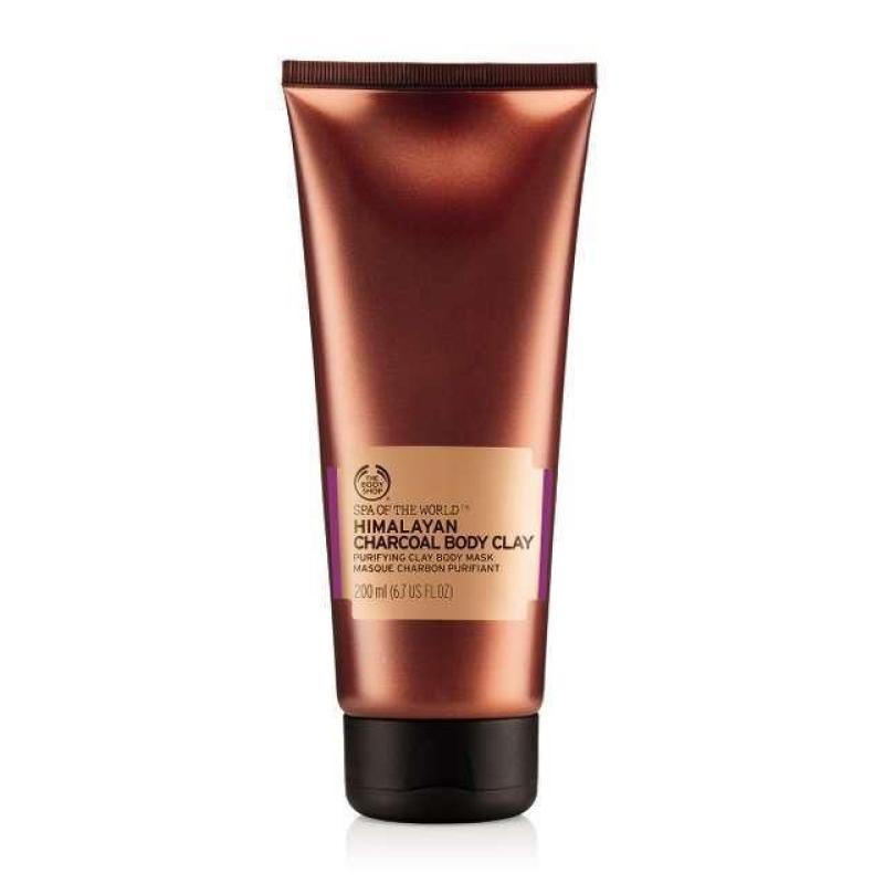Buy The Body Shop Himalayan Charcoal Body Clay (200ML) Singapore