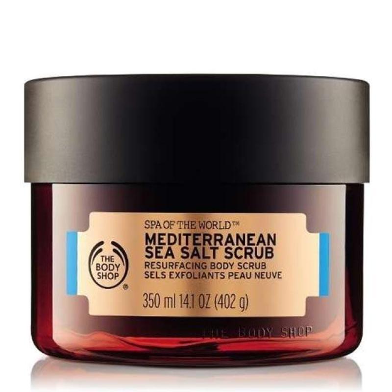 Buy The Body Shop Spa Of The World™ Mediterranean Sea Salt Scrub (350ML) Singapore