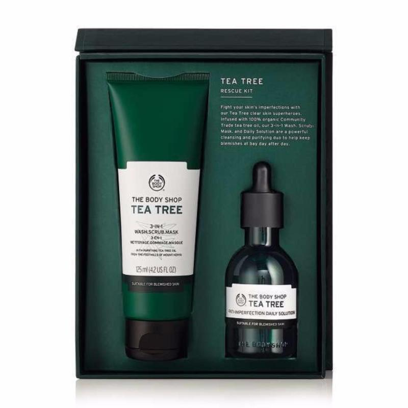 Buy The Body Shop Tea Tree Rescue Kit Singapore