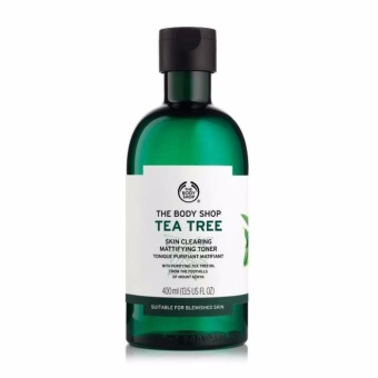 The Body Shop Tea Tree Skin Clearing Mattifying Toner (400ML)