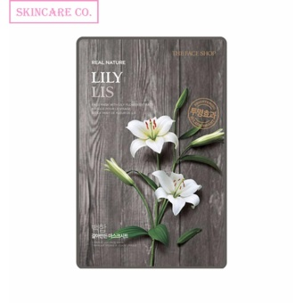 Harga The Face Shop The Real Nature Mask - Lily