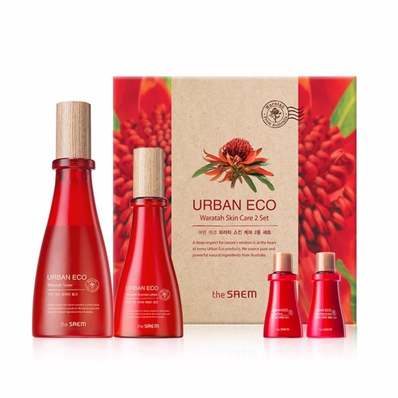 Buy [THE SAEM] Urban Eco Waratah Skin Care 2 Set (Toner+Essence Lotion) - intl Singapore