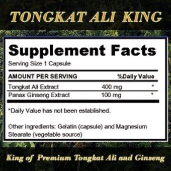 Tongkat Ali King 200:1 concentration - 2