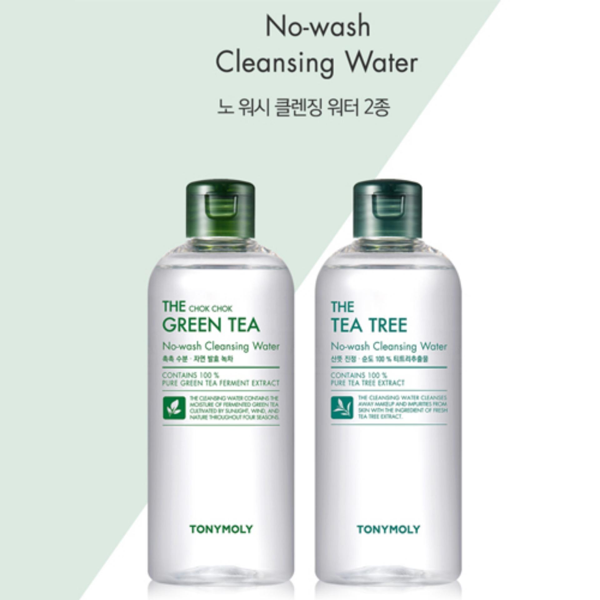Kết quả hình ảnh cho THE CHOK CHOK GREEN TEA CLEANSING WATER
