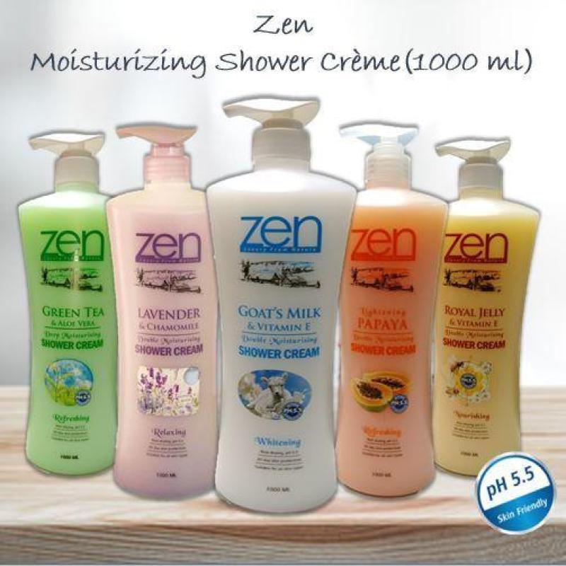 Buy Top Deals Zen Series of Shower Cream (Lightening Papaya) + 500ml Goat Milk Hand Wash Singapore