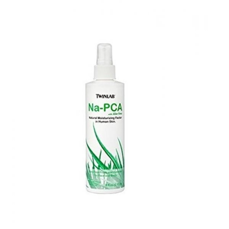 Buy Twinlab Na-PCA, Non-Oily, with Aloe Vera, 8 Fluid Ounce (237 ml) (Pack of 4) - intl Singapore