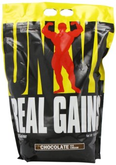Universal Nutrition Real Gains 10.6 Lbs Refill Bag (Chocolate IceCream)