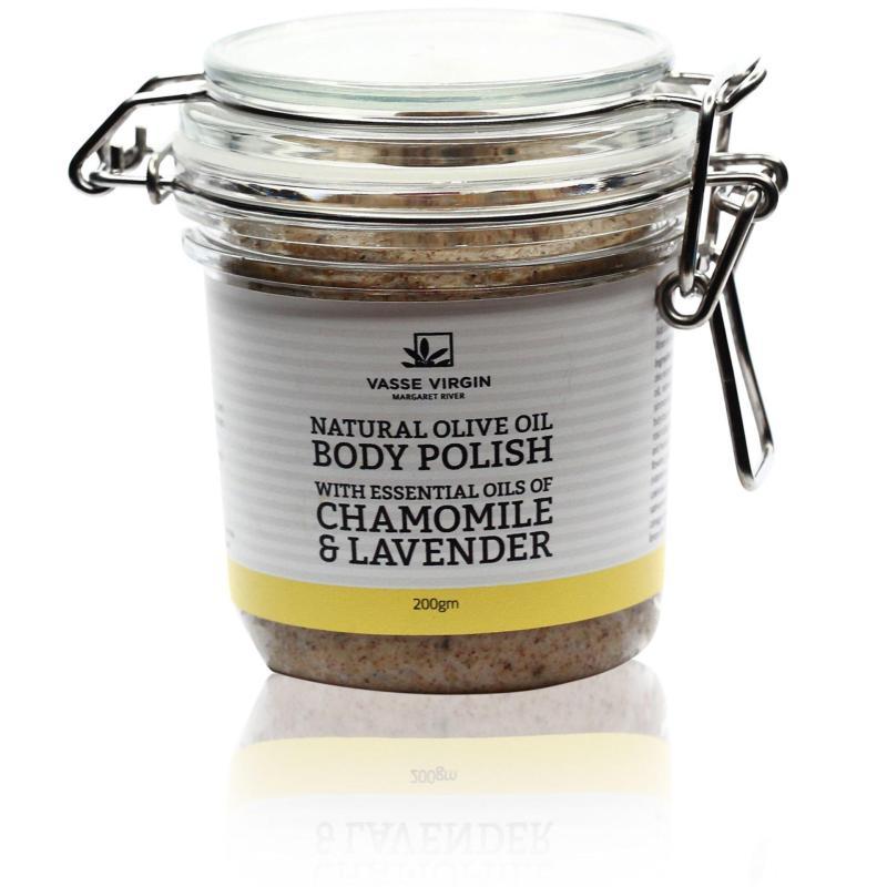 Buy Vasse Virgin Chamomile & Lavender Natural Olive Oil Body Polish 200g Singapore