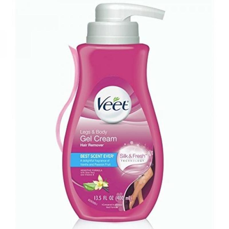 Buy Veet Gel Hair Remover Cream, Sensitive Formula, 13.5 oz (Pack of 2) Singapore